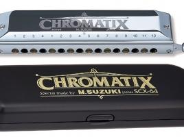 Suzuki Chromatix Scx-64 Harmonica